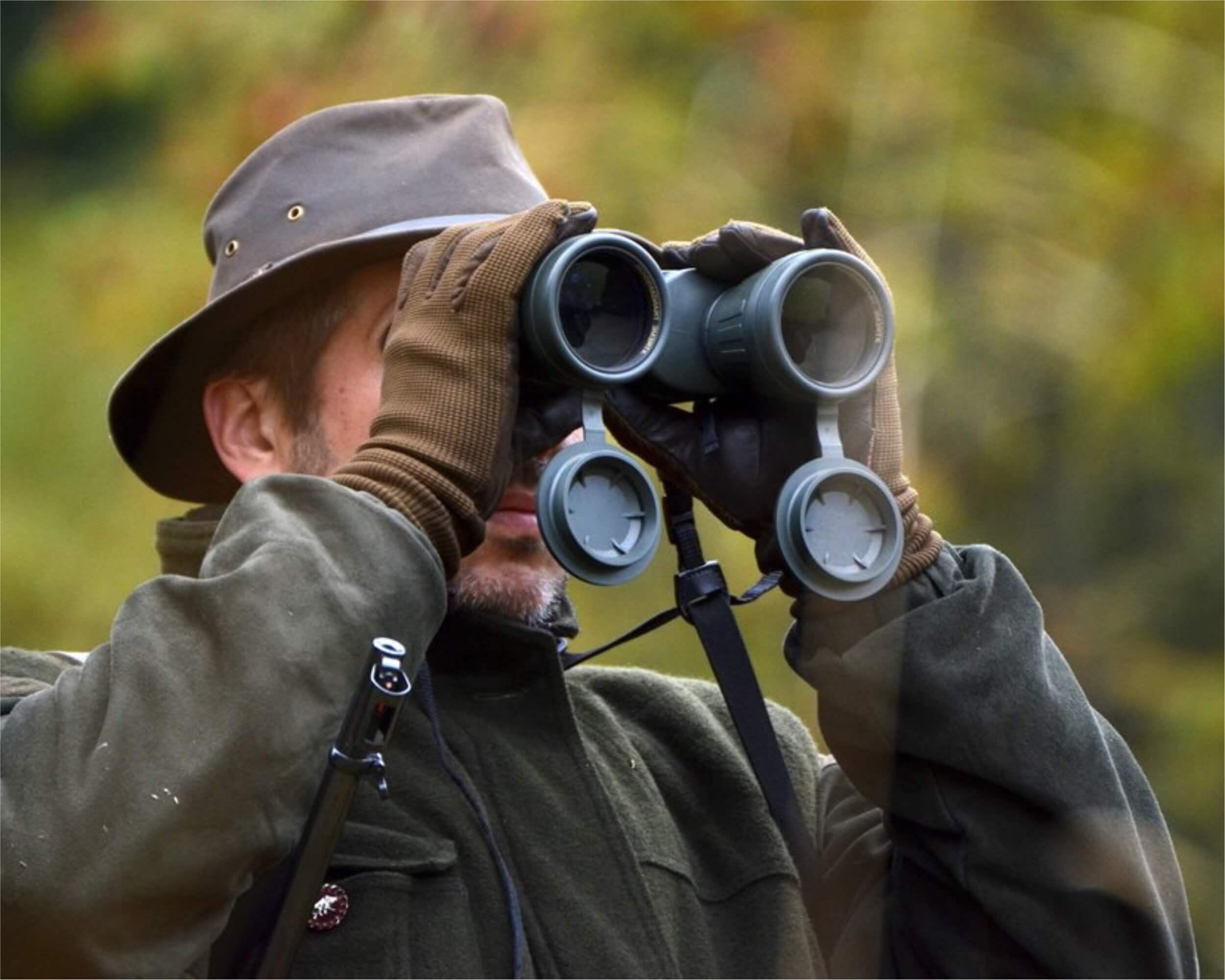 Guide for binoculars