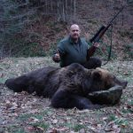 Bear hunting in Romania